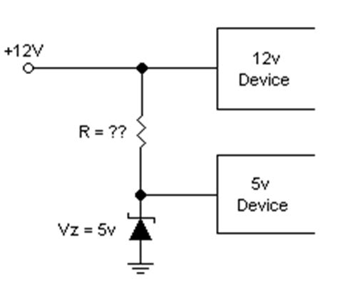 zener diode limit voltage how do i limit voltage with a zener with schematic