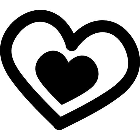 imagenes de corazones dibujados a mano amor pareja de corazones dibujados a mano iconos gratis