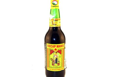 Teh Wangi Cap Raket Enak sweet soy sauce by kecap sate 21 fl oz