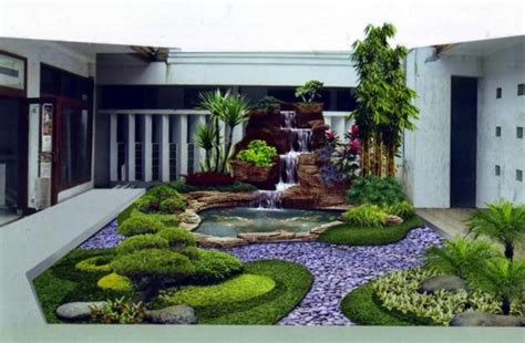 jardines de casas rusticas