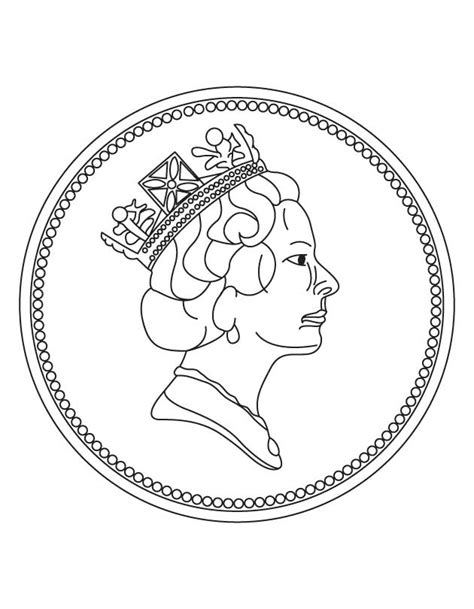 printable quarter coin coin coloring page free coloring kids coloring pages