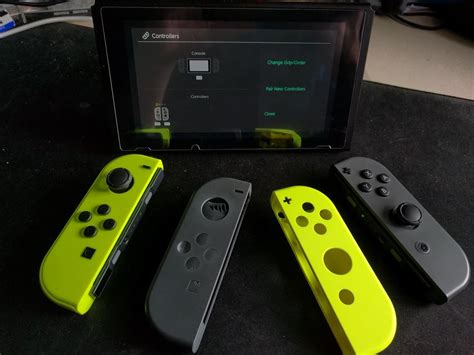 aliexpress nintendo switch neon yellow joy con shells from aliexpress fit perfectly