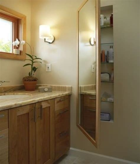 in wall medicine cabinet with mirror 29 best in wall storage ideas to save your space shelterness