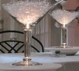 martini glass centerpiece help reception project