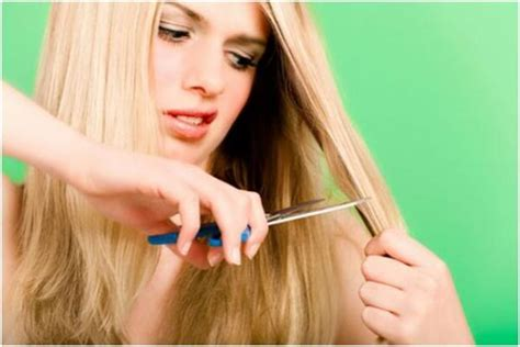 how to cut your own ponytail hair styles how to cut your own hair