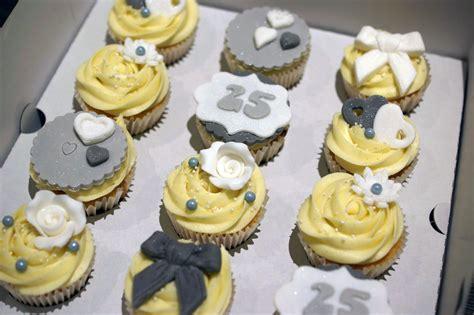 Cupcake Wedding Anniversary 25th wedding anniversary cupcakes bakealous