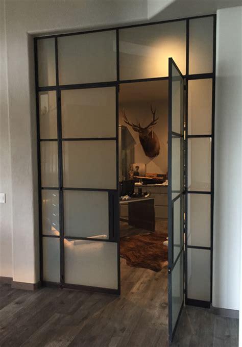 steel glass doors custom made steel and glass warehouse doors design build