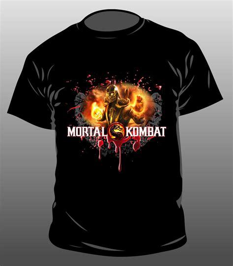 T Shirt Mortal Kombat Anime mortal kombat t shirt by g4graphic on deviantart