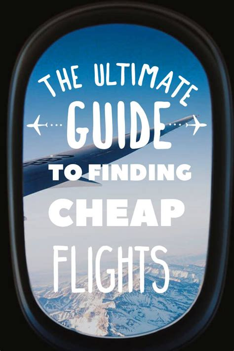 13 easy steps to always finding cheap flights in 2019 nomadic matt