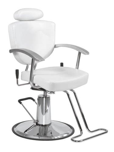 bestsalon 194 174 white fashion all purpose hydraulic recline