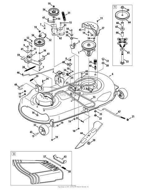 mtd mower deck diagram mtd 13ax795t004 2012 parts diagram for mower deck 46 inch