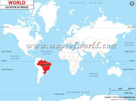 map usa brazil 105 best images on