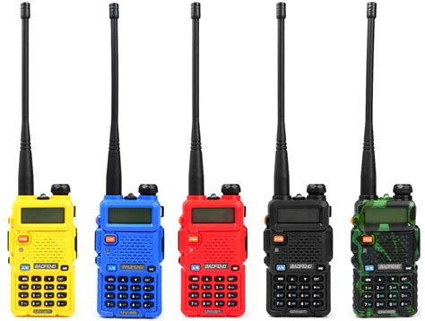 Walkie Talkie Led Light 1 baofeng uv 5r vhf uhf walkie talkie 128 channel with led