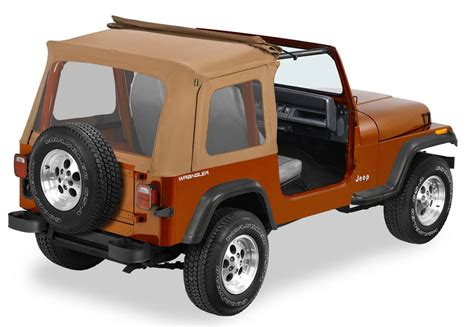 Jeep Sunrider Soft Top 1987 1995 Jeep Wrangler Bestop Sunrider Soft Top Bestop