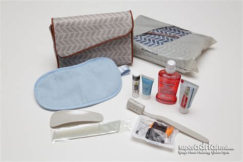 air travel comfort items the new air france business class amenity kits