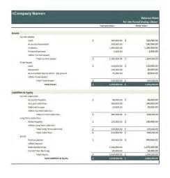 balance sheet template for small business sle balance sheet small business sle income