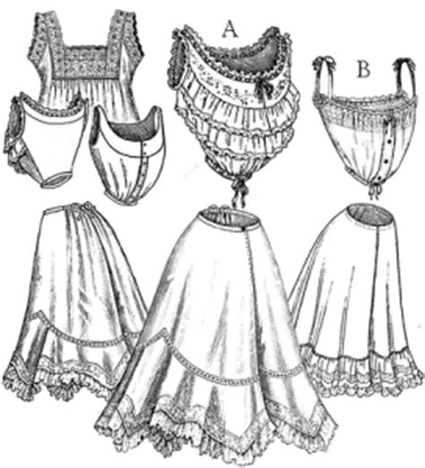 edwardian undergarments collection historical sewing pattern review truly victorian edwardian undergarments