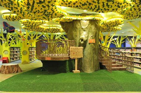 my tree house the tree house a green themed library for children opens in singapore source