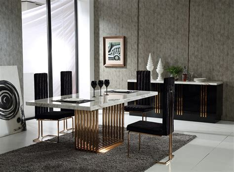 modern dining set with bench contemporary dining room modern luxury igfusa org