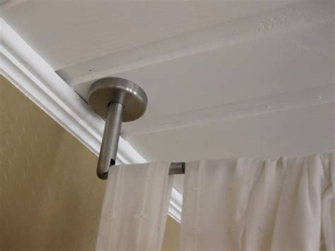 Hanging Curtain Rods From The Ceiling Designs Ceiling Mount Curtain Rods Ikea Choosing The Best Shower Curtain Check It Out Hanging Curtain