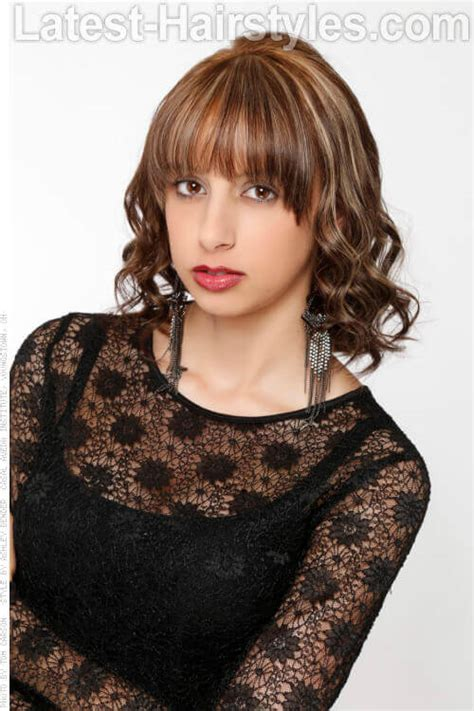 Medium Hairstyle With Bangs by 53 Medium Haircuts And Hairstyles