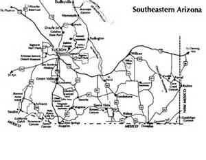 Southern Arizona Map by Southern Arizona Map