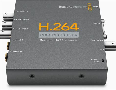 hd recorder h 264 pro recorder blackmagic design