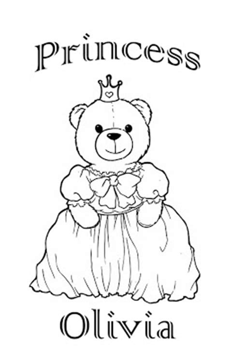 coloring pages with the name olivia interactive magazine princess olivia