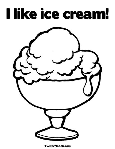 dltk ice cream coloring pages printable ice cream coloring pages coloring home