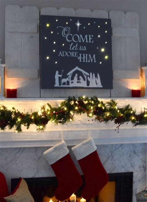 lighted canvas christmas pictures diy lighted christmas canvas art pinteres