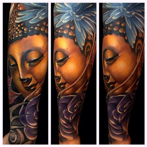 new school buddha tattoo art junkies tattoo studio tattoos mike demasi