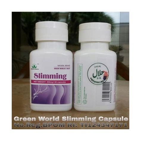 Harga Green World Slimming Capsule obat slimming capsule green world global barang dikirim