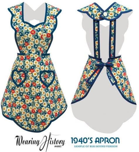 pattern for quilted apron free printable vintage apron pattern vintage apron