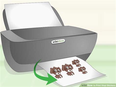 How To Make Vinyl Stickers Inkjet Printer