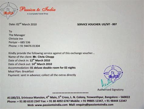 Hotel Gift Voucher Letter Format 5 Tips For Traveling With Hotel Vouchers Stop India