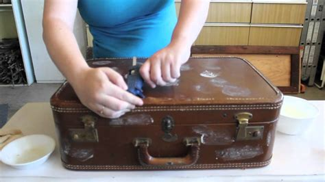 Vintage Bathroom Ideas by Upcycle Vintage Suitcase To Clever Table Youtube