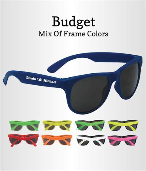 Wedding Favors Sunglasses by Wedding Favor Sunglasses Budget Free Proofs No Setup Fees