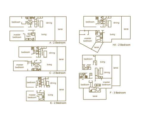 makena surf floor plans makena