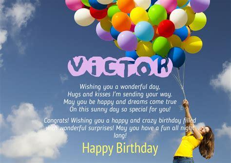 imagenes de happy birthday victor birthday congratulations for victor