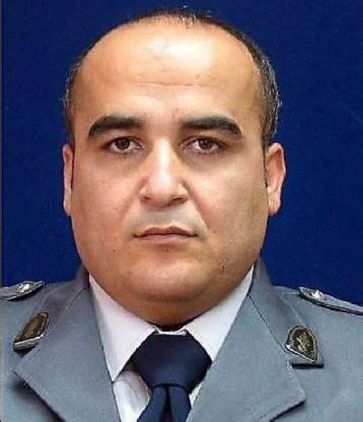 khaled ajaj isf intelligence officer assassinated in zgharta north