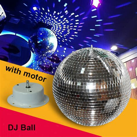 Rotating Disco Light by 20cm Diameter Clear Glass Rotating Mirror Disco Light Dj Light Lighting Jpg