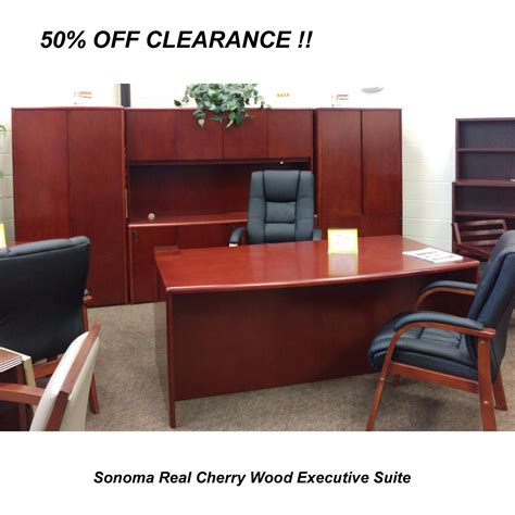 cherry wood office desk out sale executive office desk suite in cherry wood