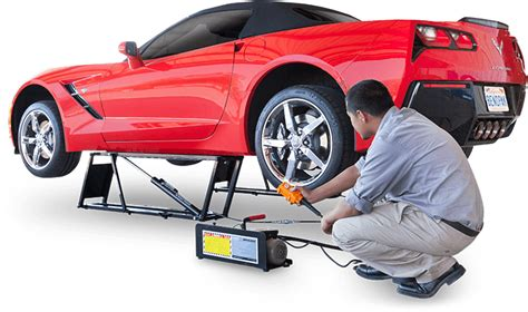 portable car lifts quickjack portable car lifts and car jacks for your home