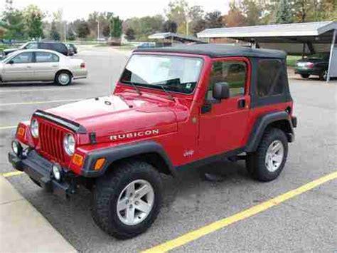2004 Jeep Rubicon Mpg Buy Used 2004 Jeep Wrangler Rubicon Sport Utility 2 Door 4