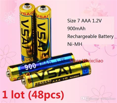 Baterai Aaa Ni Mh Battery 900 1 2v Trustfire 1 size 7 aaa 1 2v 900mah ni mh rechargeable battery 1 2 volt ni mh batteries battery lr44