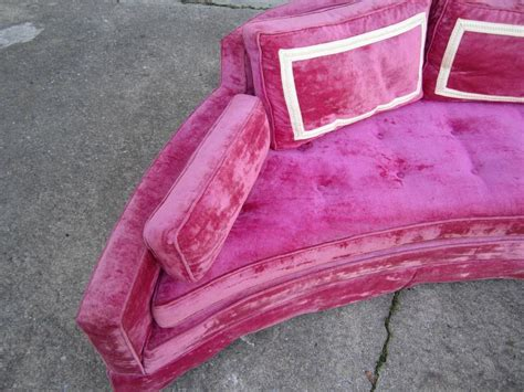 hot pink sofa for sale scrumptious harvey probber hot pink crescent sofa mid