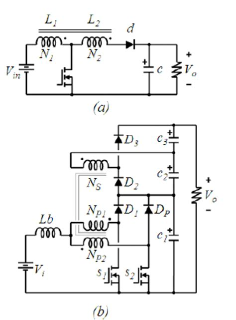 coupled inductor inductance recently proposed coupled inductors based converters a taped