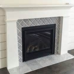 ceramic tile for fireplace surround artisan arabesque grigio ceramic wall tile fireplace