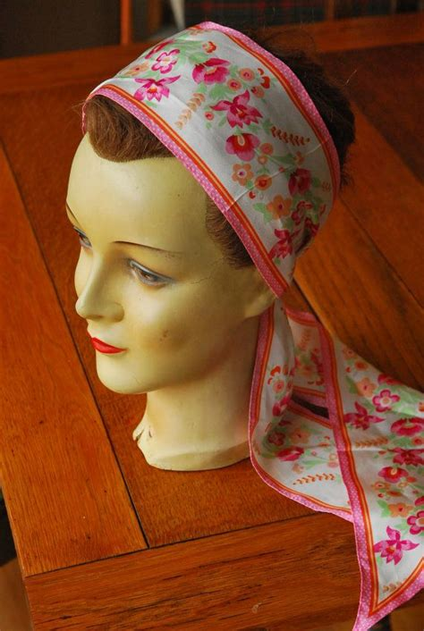 simple hair bandana for covering patch of bald head for ladies 1000 images about silk head scarves on pinterest head