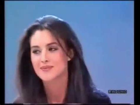 monica bellucci smiling monica belucci 1991 youtube